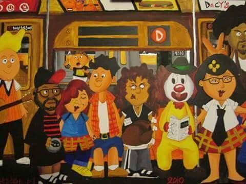 Ronaldo Byrd <br> On the Bus