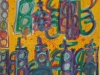 VitoBonannoSeries#18real&ghosttrafficlightsinHamdenCTwithgraffitifromabuildingthatisnowgone