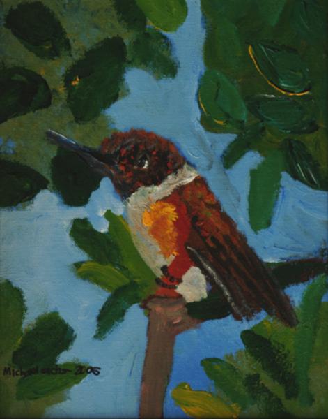 Michael Sachs Oriental Bird