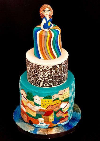 Cake Raga - Sim GregBottomLayerInspiredbyKevinHosseini