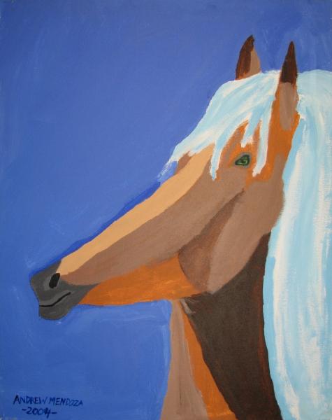 Andrew Mendoza Horse