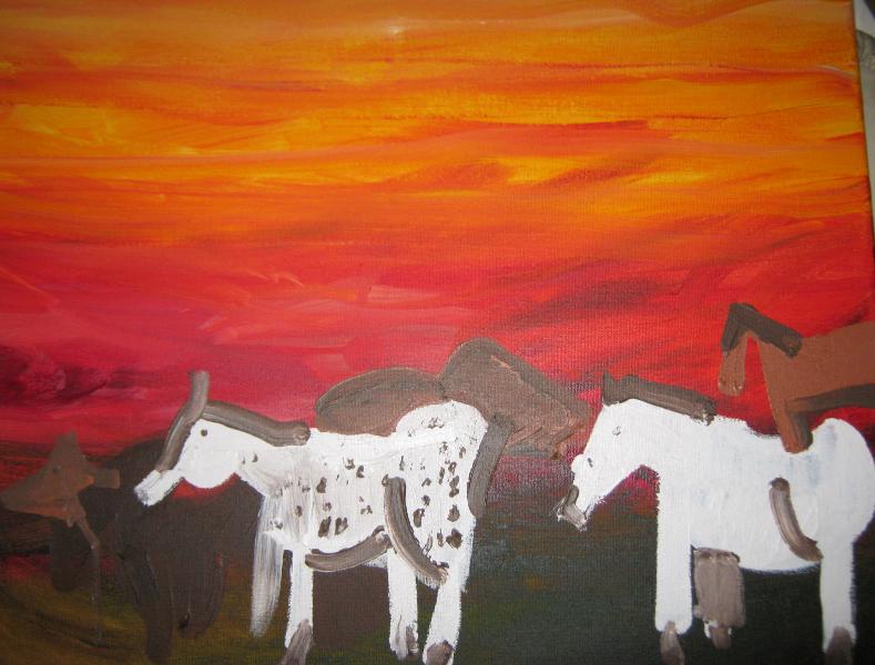 Kevin Hosseini Horses