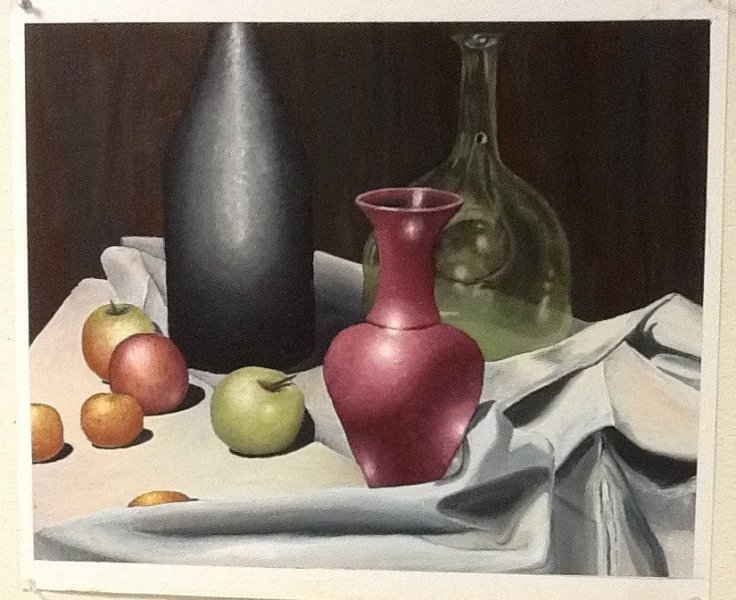 fruit vase and wine by trisha morey.jpg