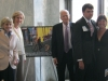 Kevin with Lois Capps Jean Kennedy Smith James Billington
