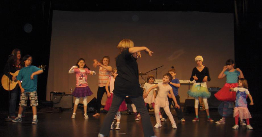 Joanne Lara and her Autism Movement Dancers in Hollywood May 2011