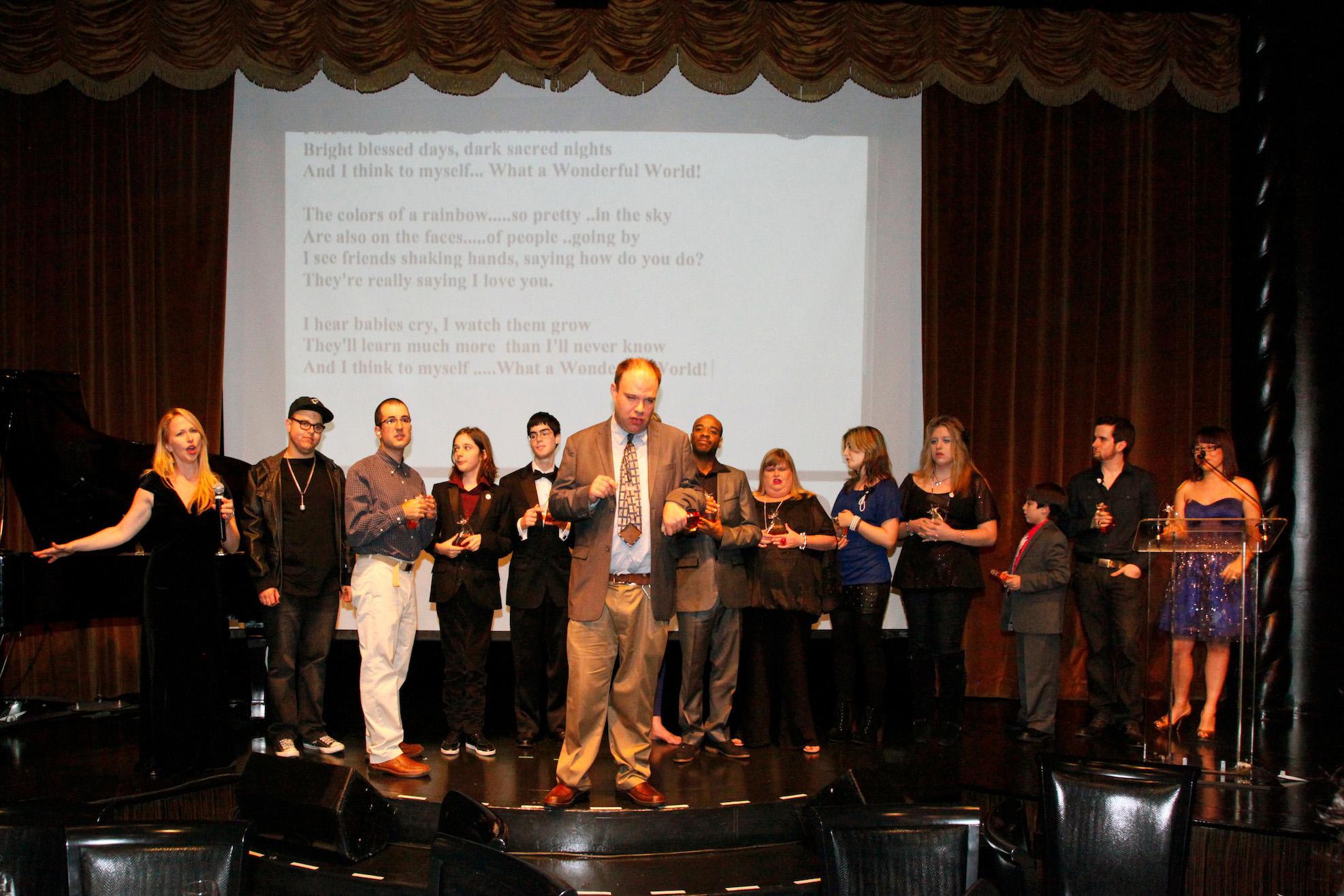 Trent Altman at Genius of Autism Awards