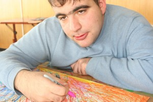 Alex Albert: Painter, Friend, Artist and #Autistic