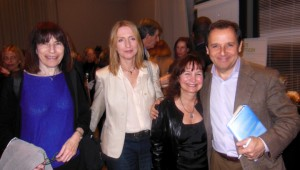 Yudi Bennet, Susan Osborne, Elaine Hall, and Ron Suskind