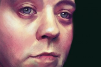"Nik Sebastian ""Self-Portrait"""