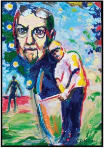 Steve Selpal 'Donald Triplett' Donald Triplett was an autistic golfer and a patient of Leo Kanner. Triplett was the first person diagnosed with infantile autism.