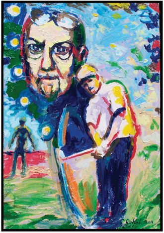 Steve Selpal 'Donald Triplett' Donald Triplett was an autistic golfer and a patient of Leo Kanner. Triplett was the first person diagnosed with Kanner's Syndrome. Steve Selpal's website is www.stevoartist.com