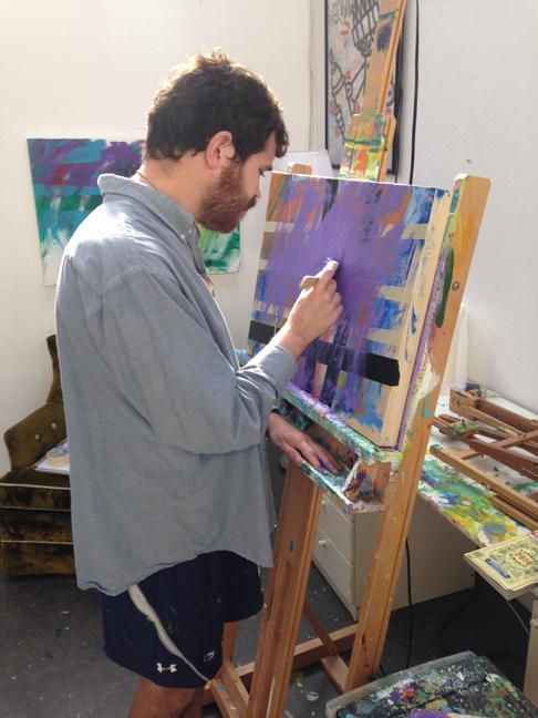 Jeremy painting 4