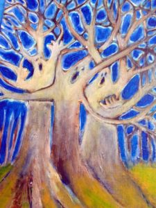 "Kimberly Tucker ""Tree for Peace"""