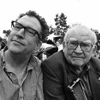 Matt and Ed Asner