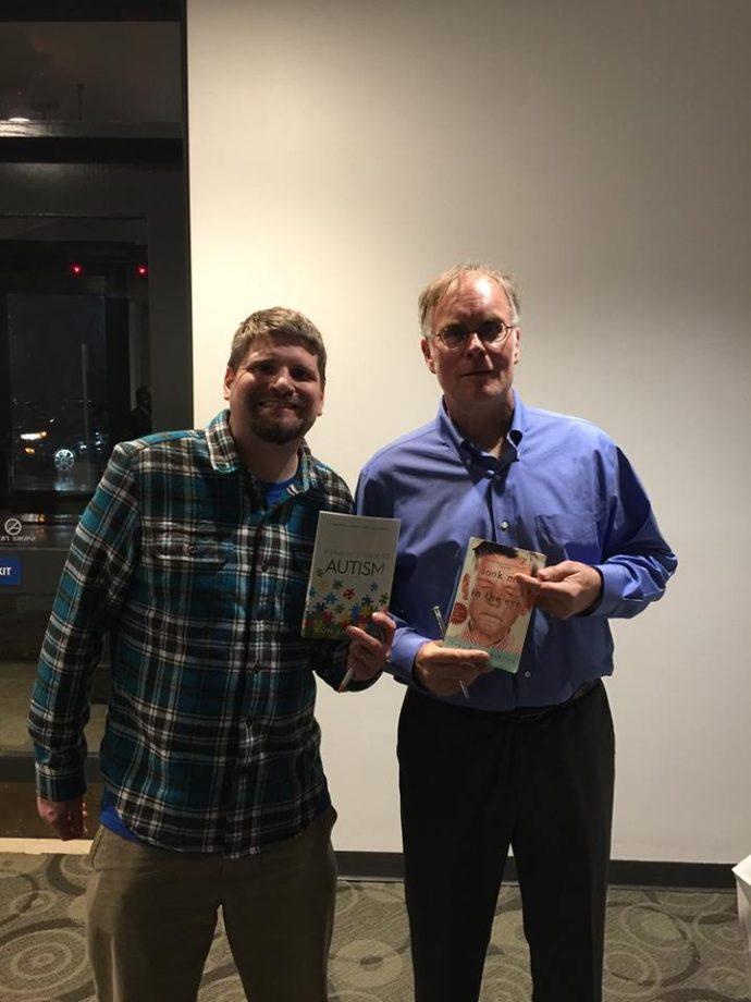 Ron Sandison with John Elder Robison