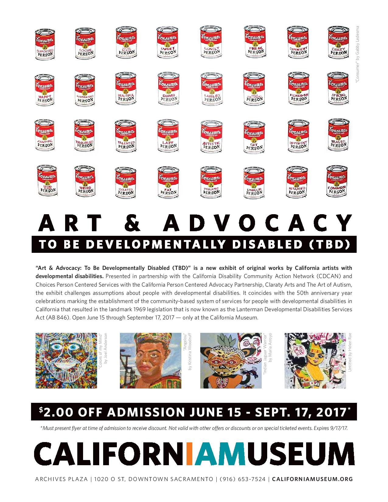 Art as Advocacy The Art of Autism at the California Museum in