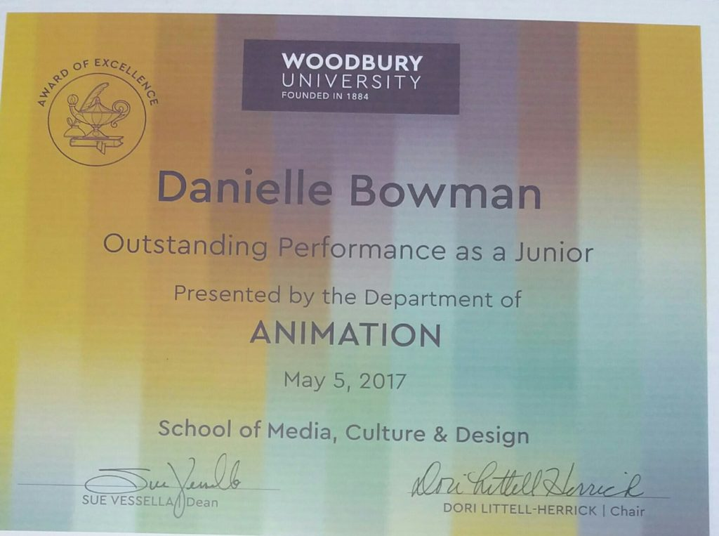 Dani Bowman Outstanding Performance