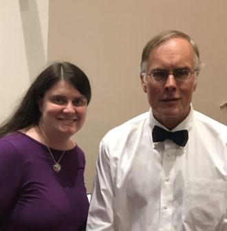 Carly Fulgham with John Elder Robison