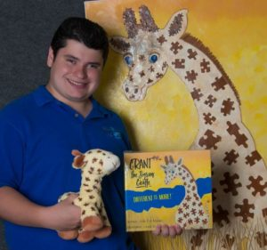 Grant Manier Jigsaw Giraffe