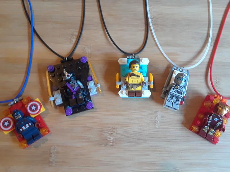 Lego Jewelry by Carlos