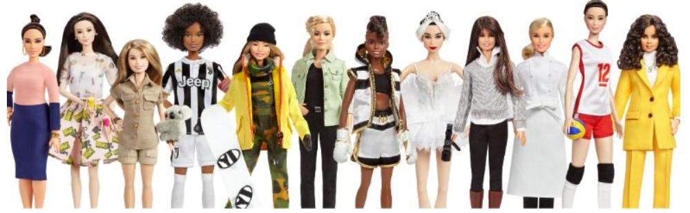 Barbie unveils dolls based on Amelia Earhart-Frida-Kahlo