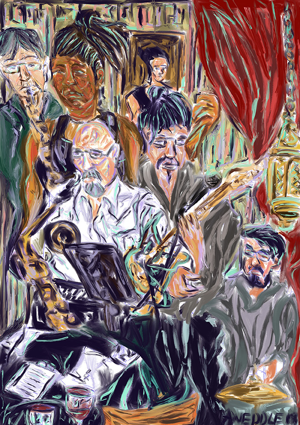 "Angela Weddle ""Jazz Poetry at Carmen's De La Calle"""